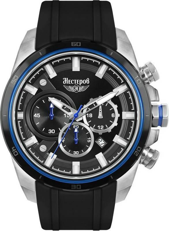 Нестеров SW60102EM - мужские наручные часы - заказать