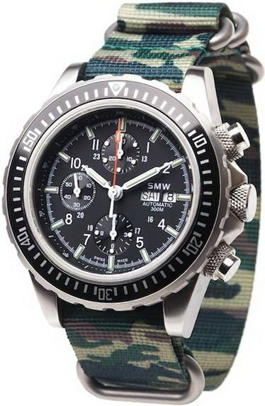 Фото часов Swiss Military Watch SMW Chrono Valjoux 7750 SMW.M7.37.C1G