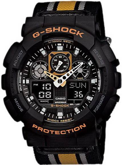 Фото часов Casio G-Shock GA-100MC-1A4