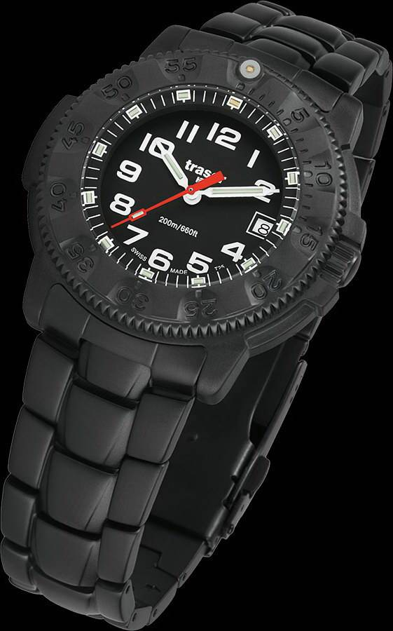 Фото часов Мужские часы Traser P 6507 Commander 100 Pro Black Limited Russian Edition (титан) P6507.A80.32B.01 RUSSIA