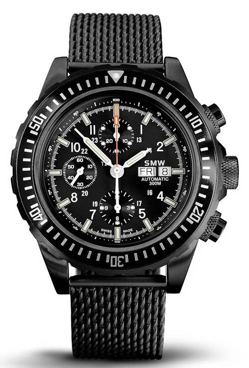Фото часов Swiss Military Watch SMW Chrono Valjoux 7750 SMW.M7.4N.C1G