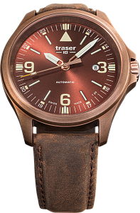 Traser P67 Officer Pro Automatic Bronze Brown 108073 Наручные часы