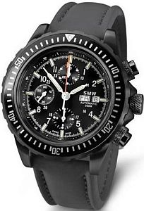 Мужские часы Swiss Military Watch SMW Chrono Valjoux 7750 SMW.M7.4.C1G Наручные часы