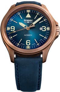 Traser P67 Officer Pro Automatic Bronze Blue 108074 Наручные часы
