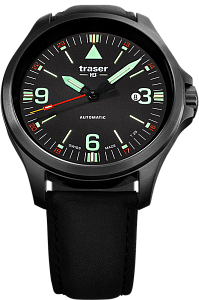 Traser P67 Officer Pro Automatic Black 108075 Наручные часы