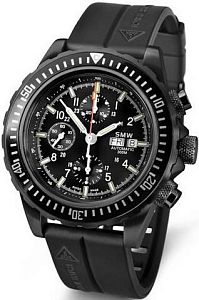 Мужские часы Swiss Military Watch SMW Chrono Valjoux 7750 SMW.M7.47.C1G Наручные часы
