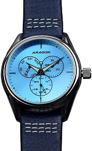 Aragon Caprice 43 Multifunction A116BLU Наручные часы