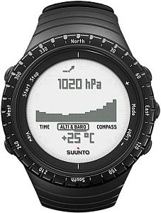 Suunto Core Regular Black SS014809000 Наручные часы