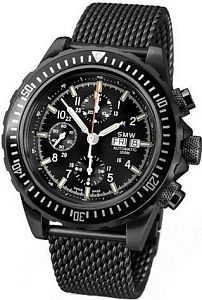 Мужские часы Swiss Military Watch SMW Chrono Valjoux 7750 SMW.M7.4N.C1G Наручные часы