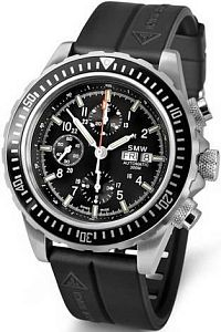 Swiss Military Watch SMW Chrono Valjoux 7750 SMW.M7.36.C1G Наручные часы